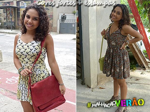 Bolsas coloridas - Julia (Foto: Malhação / TV Globo)
