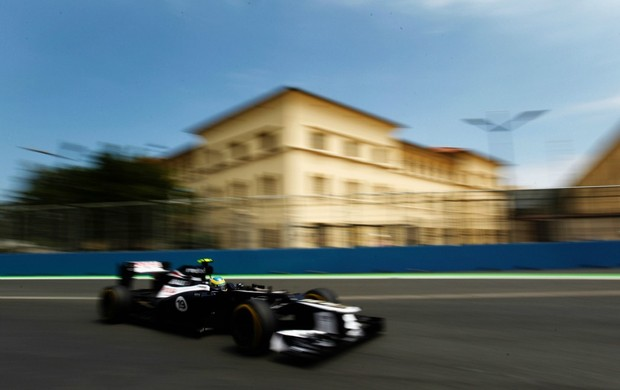 Bruno Senna em Val&#234;ncia GP da Europa (Foto: Getty Images)