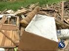 Moradores denunciam o despejo irregular de lixo na Sacramenta