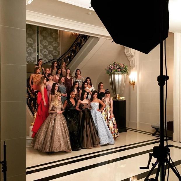 As jovens debutantes do Le Bal (Foto: reprodução/instagram)