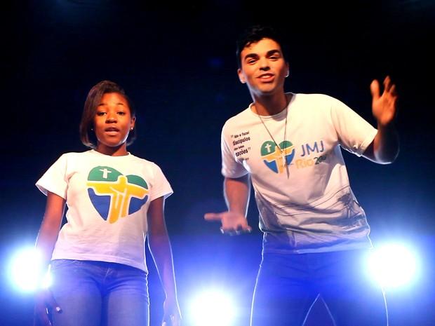 MC Luiza e Thiago Pigozzo protagonizam o clipe (Foto: Divulgação/ Wanderson Chan )