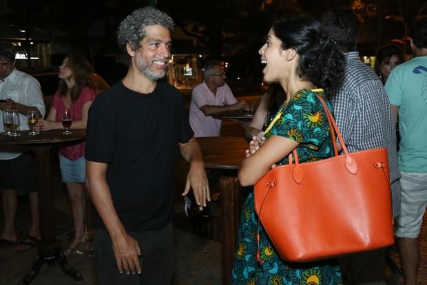 Estevão Ciavatta e Bela Gil (Foto: Roberto Filho/Brazil News)
