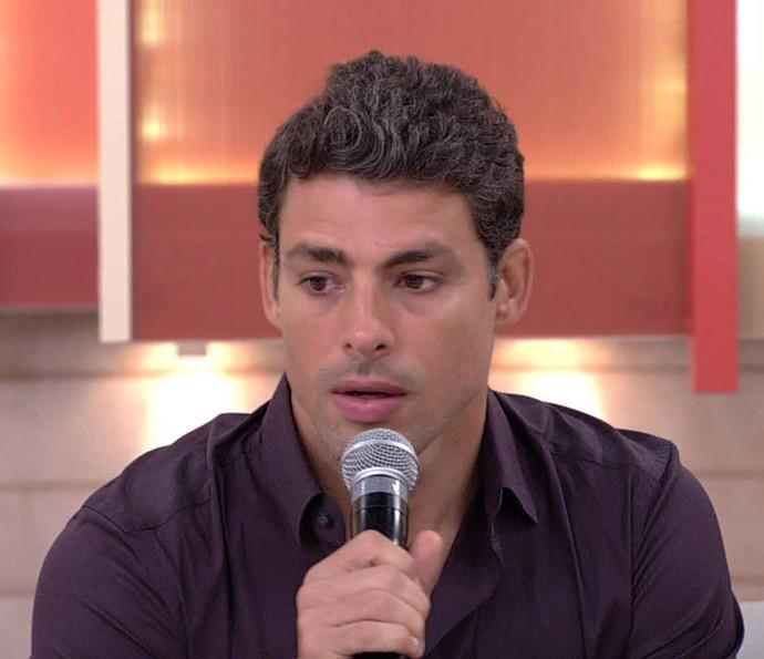 Cauã relembra parceira com Domingos (Foto: TV Globo)
