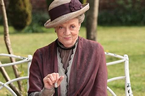 Maggie Smith de 'Downton Abbey' (Foto: Reprodução da internet)