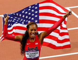 Sanya Richards-Ross, dos Estados Unidos, Atletismo (Foto: Agência Reuters)