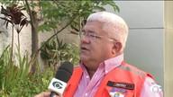 Defesa Civil está em alerta por causa das chuvas na capital