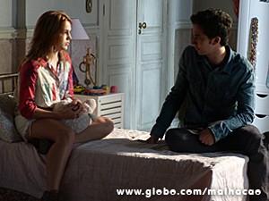 Ben fica preocupado com Anita (Foto: Malhação / TV Globo)