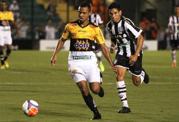 Criciúma e Figueirense se enfrentam no Heriberto Hülse (Foto:  Fernando Ribeiro/criciumaec.com.br/Reprodução Globoesporte.com)