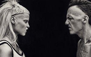 Die Antwoord mistura rap e eletrônica no Palco 3 do Lollapalooza