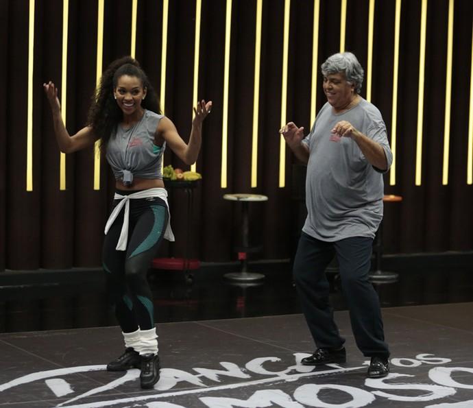 Camila e Sidney mostraram sintonia no primeiro dia (Foto: Felipe Monteiro/Gshow)