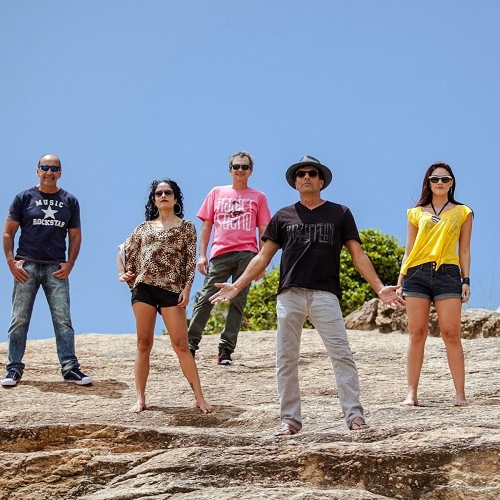 Evandro Mesquita e integrantes da Blitz (Foto: Pedro Serra/Divulgação)