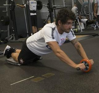 Alexandre Pato treino Corinthians (Foto: Daniel Augusto Jr/Ag. Corinthians)