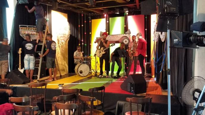 Gshow acompanha os bastidores do 'Aprovado' especial de Carnaval (Foto: TV Bahia)