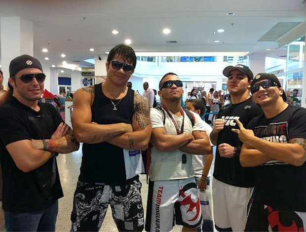 Erick Silva, Rony Jason e Gasparzinho, UFC (Foto: Reprodução)