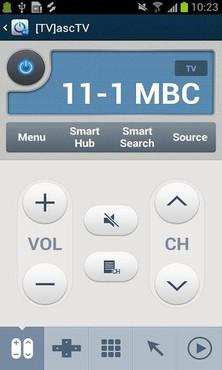 screenshot de AllShare Control
