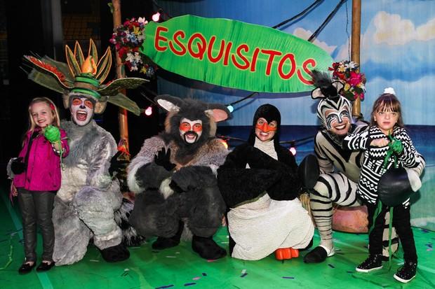 Rafa Justus na estreia do musical Madagascar (Foto: Manuela Scarpa/Foto Rio News)