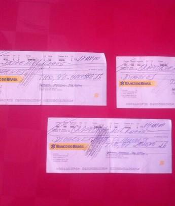Jogador denuncia que recebeu cheque sem fundo  (Foto: GloboEsporte.com)