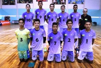 Seleção acreana de vôlei sub-18 2016 (Foto: Antônio Carlos Azevedo/CBV)