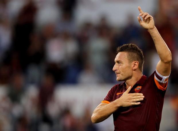 Roma já avisou: vai aposentar a camisa 10 assim que craque parar (Foto: Getty Images)