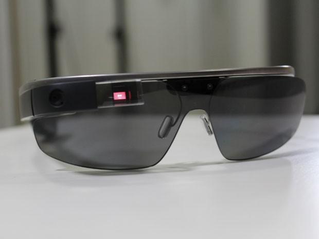 Versão 2.0 do Google Glass, adquirida por adolescente de Brasília (Foto: Tiago Amorim Andrade/Arquivo pessoal)