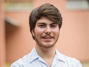 Thales Cavalcanti é Henrique, aluno do Colégio Leal Brazil, na nova temporada de Malhação (Foto: João Cotta / TV Globo)
