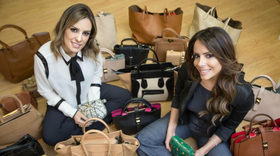 Raissa Machado e Gabriela de Almeida, donas do Bolsas150  (Foto: Divulgação)