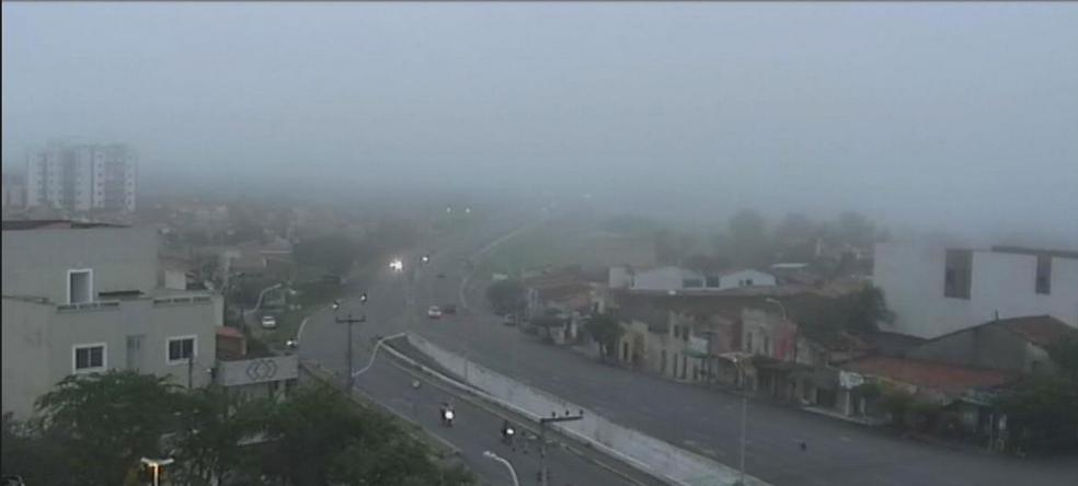 A previsão é de chuva em todo o Ceará durante a Semana Santa (Foto: Reprodução/TV Verdes Mares)