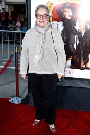 Kathy Bates em première de filme em Los Angeles, nos Estados Unidos (Foto: Frazer Harrison/ Getty Images/ AFP)