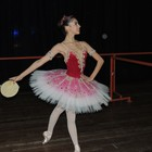 Bailarina vai  dançar na Alemanha (Géssica Valentini/G1)