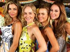 Festa tem Grazi Massafera, Angélica, Carolina Dieckmann e Paolla Oliveira