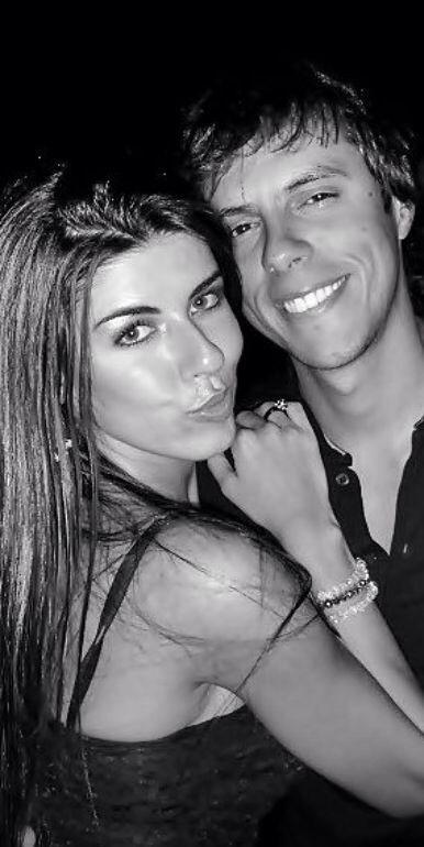 Paola Leça e o novo namorado (Foto: Arquivo Pessoal)