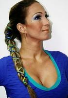 Contagem regressiva! Valesca Popozuda mostra maquiagem e penteado para torcer durante a Copa