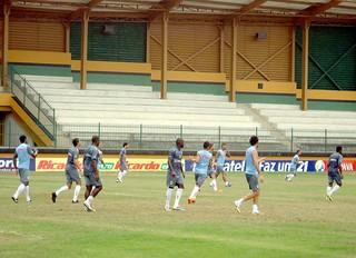 treino Boavista (Foto: Mariana Kneipp / Globoesporte.com)