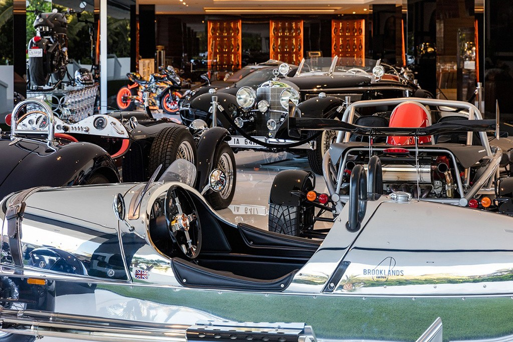 A humilde garagem (Foto: Divulgação)