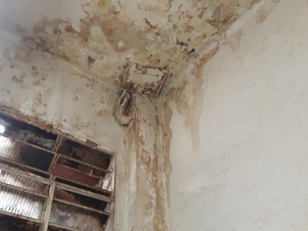 Procon-RJ encontrou mofo e ferrugem durante fiscalização  (Foto: Divulgação/Procon-RJ)