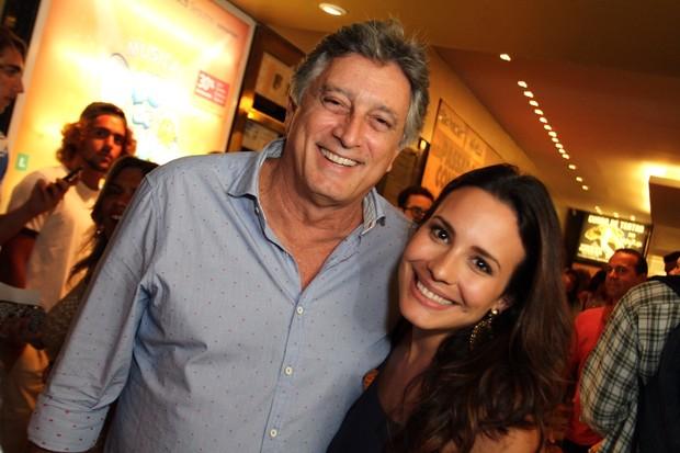 Eduardo Galvão e Juliana Knust (Foto: Anderson Borde/AgNews)