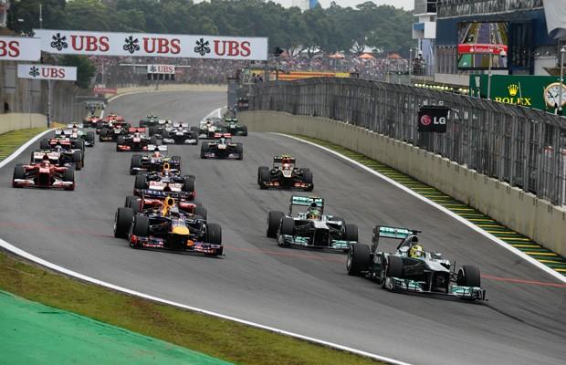 GP Petrobras do Brasil de F1 (2013) (Foto: Divulgação)