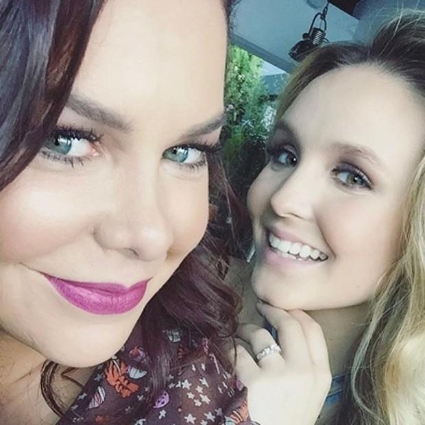 Fernanda Souza e Larissa Manoela (Foto: Reprodução/Instagram)