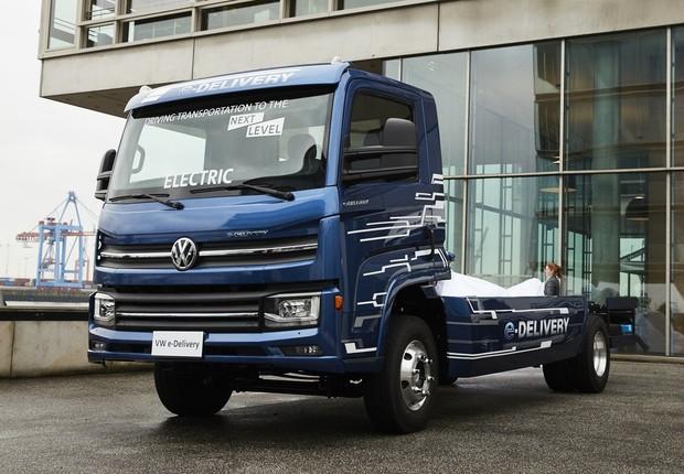 Caminhão elétrico da MAN: projeto desenvolvido pela Volkswagen no Brasil (Foto: Divulgação)