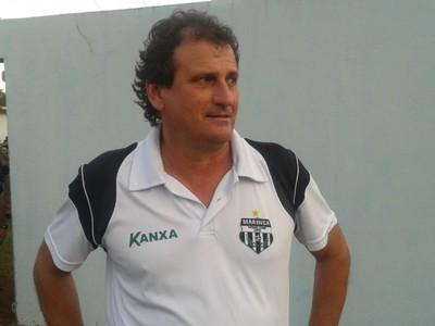 Claudemir Sturion, técnico do Maringá (Foto: Rodrigo Saviani/G1)