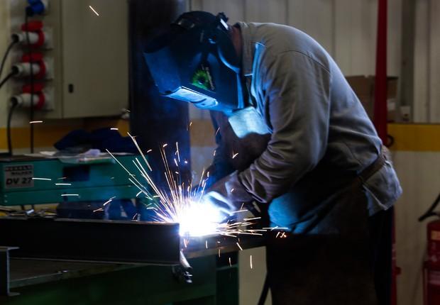 Produção industrial; PIB; Produto Interno Bruto; indústria; mão-de-obra; emprego; trabalho ; fábrica ;  (Foto: David Alves/Palácio Piratini/Arquivo)