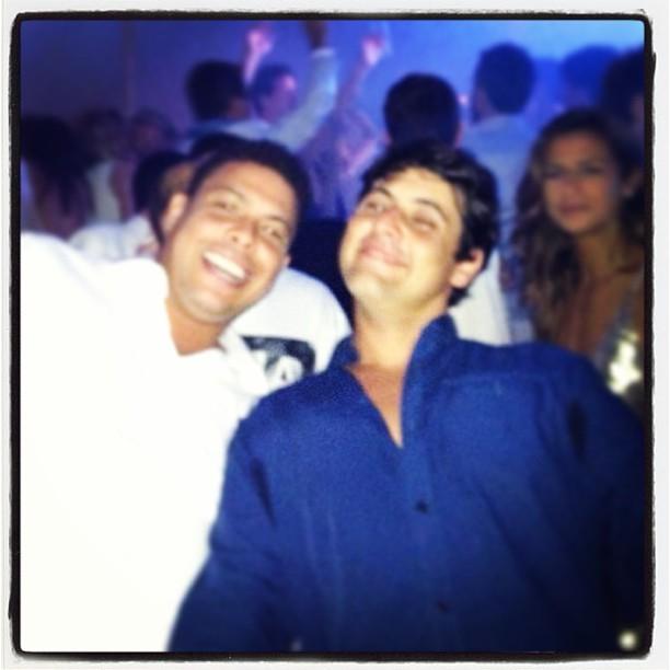 Ronaldo e Bruno de Luca (Foto: Instagram/Reprodução)