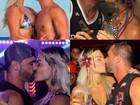 Laura Keller faz compilação dos melhores beijos no marido