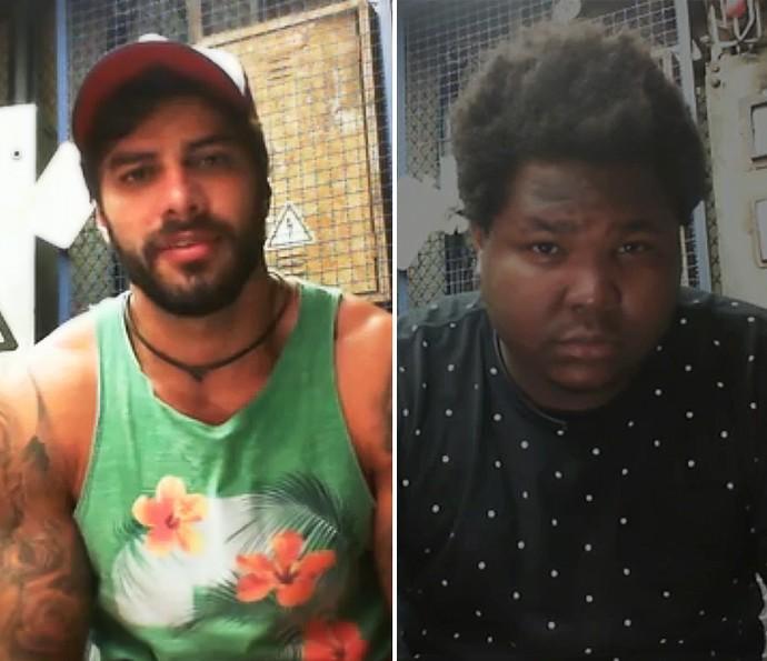 Renan e Ronan raiox (Foto: TV Globo)