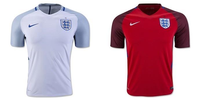 Camisas Eurocopa inglaterra