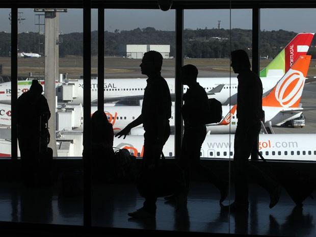 Aeroporto Internacional de Guarulhos, em São Paulo (Foto: Evelson de Freitas/Estadão Conteúdo)