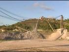 Explosivos deixados em agência em Barreiros são detonados em pedreira