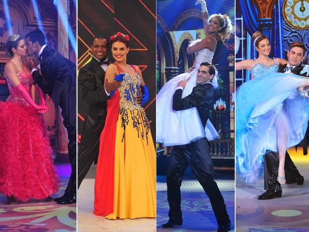 Montagem Dança dos Famosos (Foto: Reinaldo Marques/Gshow)