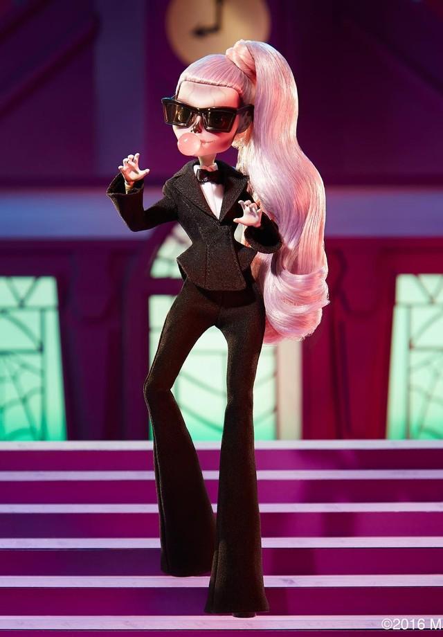 Monster High Lady Gaga (Foto: Reprodução/Instagram)