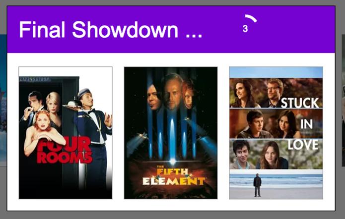 Netflix Showd ajuda o usuário a decidir qual filme ou série assistir na Netflix